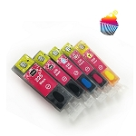Canon edible ink REFILLABLE cartridges 225/226