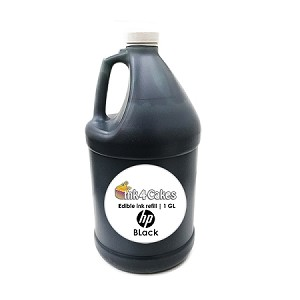 Black edible ink refill for HP printers | 1 GL